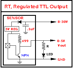 LED CONNECTION TO TTL OUTPUT